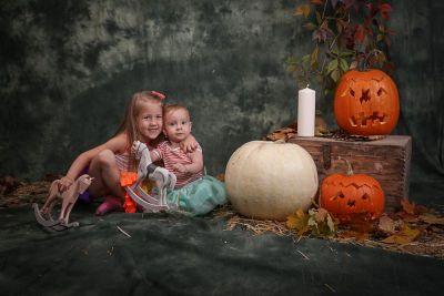 Halloween a podzim